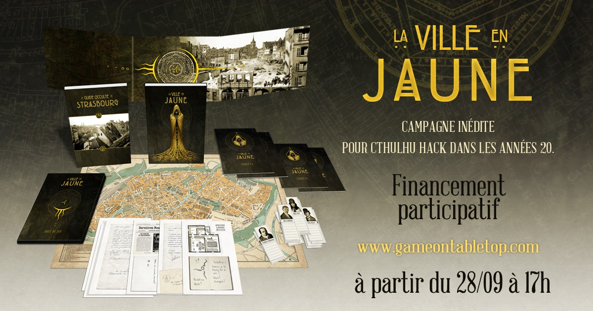 Une campagne inédite pour Cthulhu Hack.